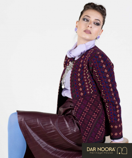 Fully embroidered Jacket